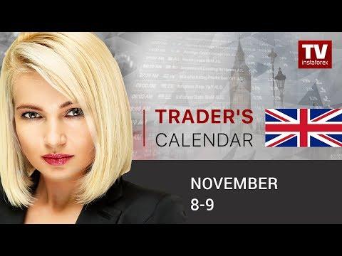 Trader's calendar November 8 - 9: Dollar set to resume rally