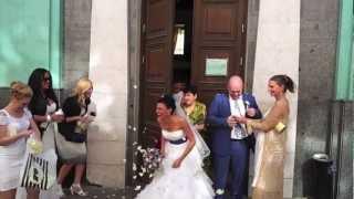 Moscow-Tunisia 2012. Креативная идея для свадьба.