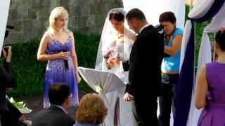 Выездная регистрация свадьбы в парк-отеле Потемкин