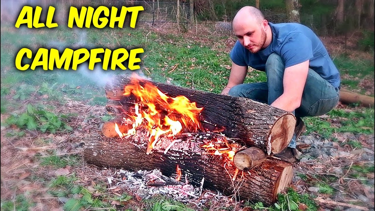 how-to-make-campfire-last-all-night