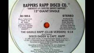 Disco Daddy & Captain Rapp - Gigolo Rapp