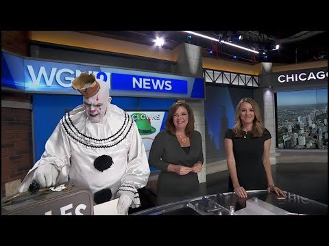 Puddles Pity Party Know Your Clowns Chicago WGN 9 09/29/2017