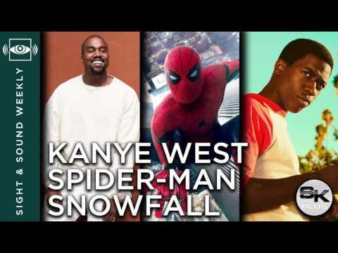 Sight & Sound Weekly #38: Kanye West, Spider-Man: Homecoming, Snowfall