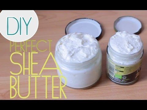 DIY: My Perfect Homemade Creamy Shea Butter (STAYS FLUFFY)