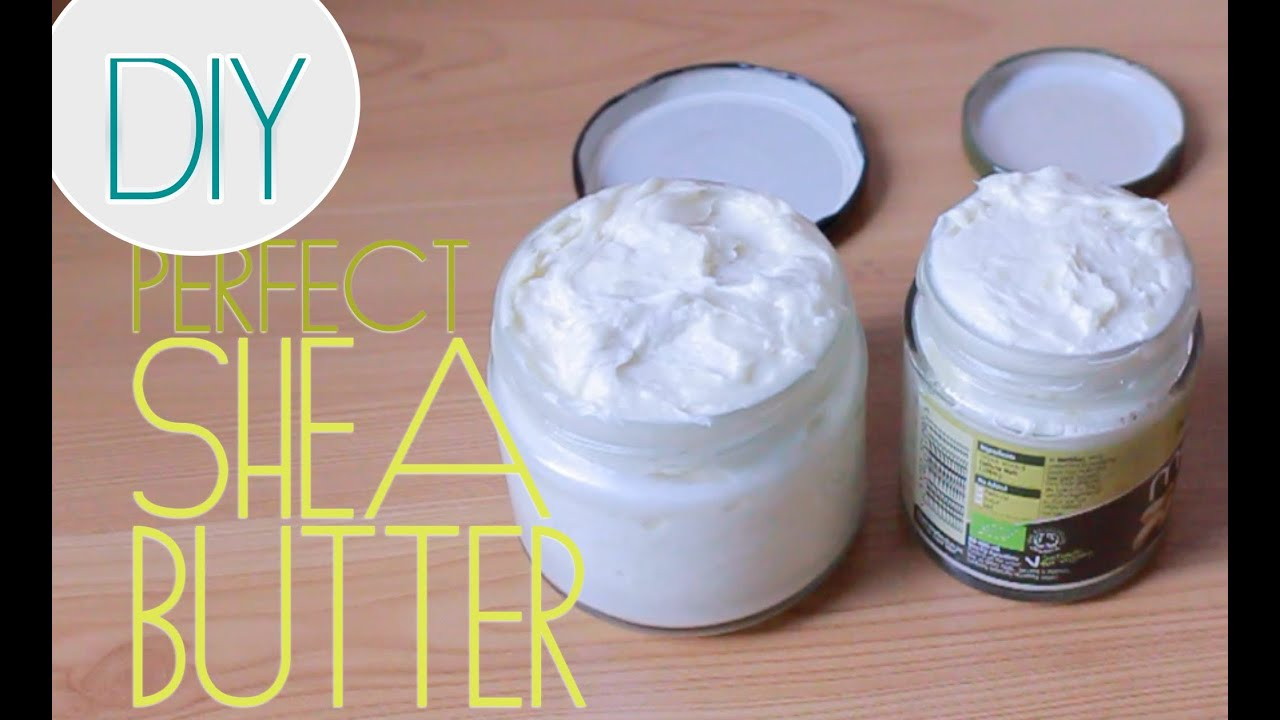 How To Make Whipped Shea Butter For Natural Hair