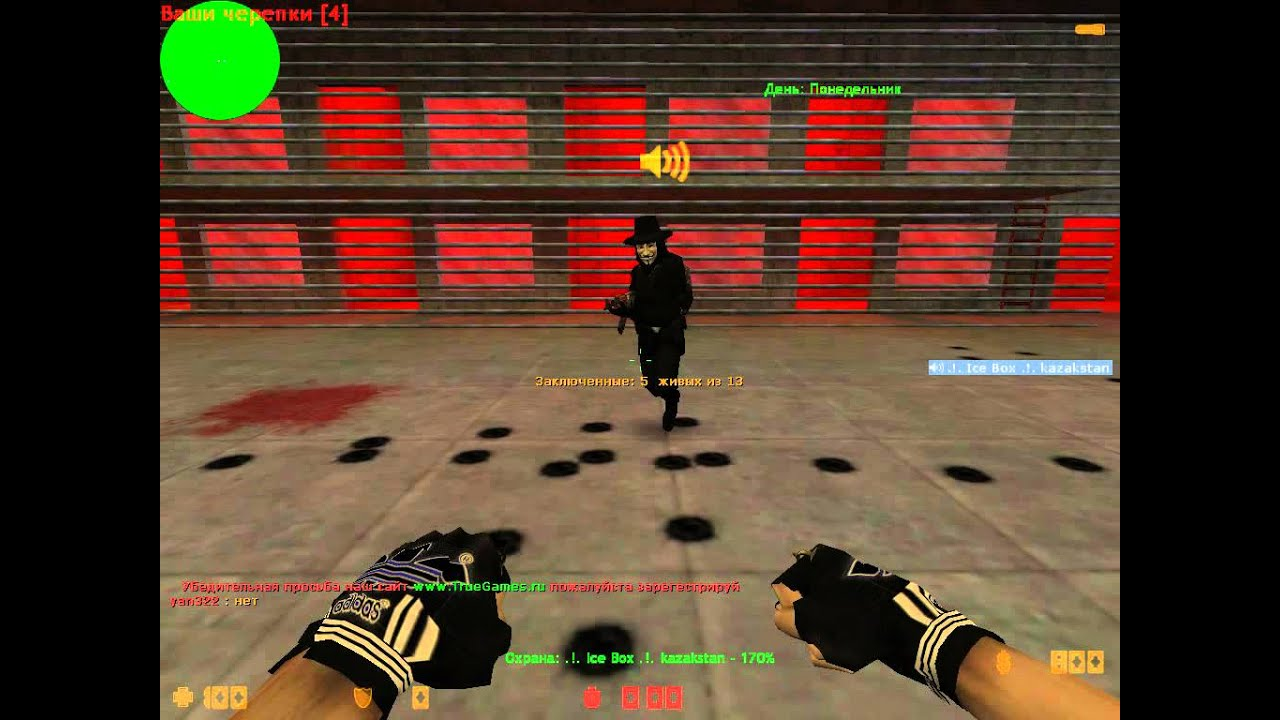 Видео игры контр страйк побег из тюрьмы