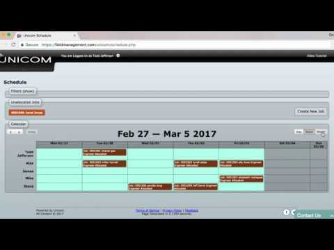 Creating and Scheduling Jobs