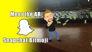 Cumplir con Snapchat de la Animación en 3D AR Bitmoji,