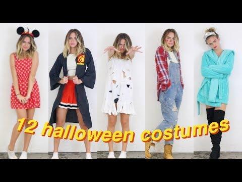 12 DIY Last Minute Halloween Costumes! | Summer Mckeen