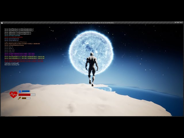 Character Flight in a Space Game - Part 1 [UE4]