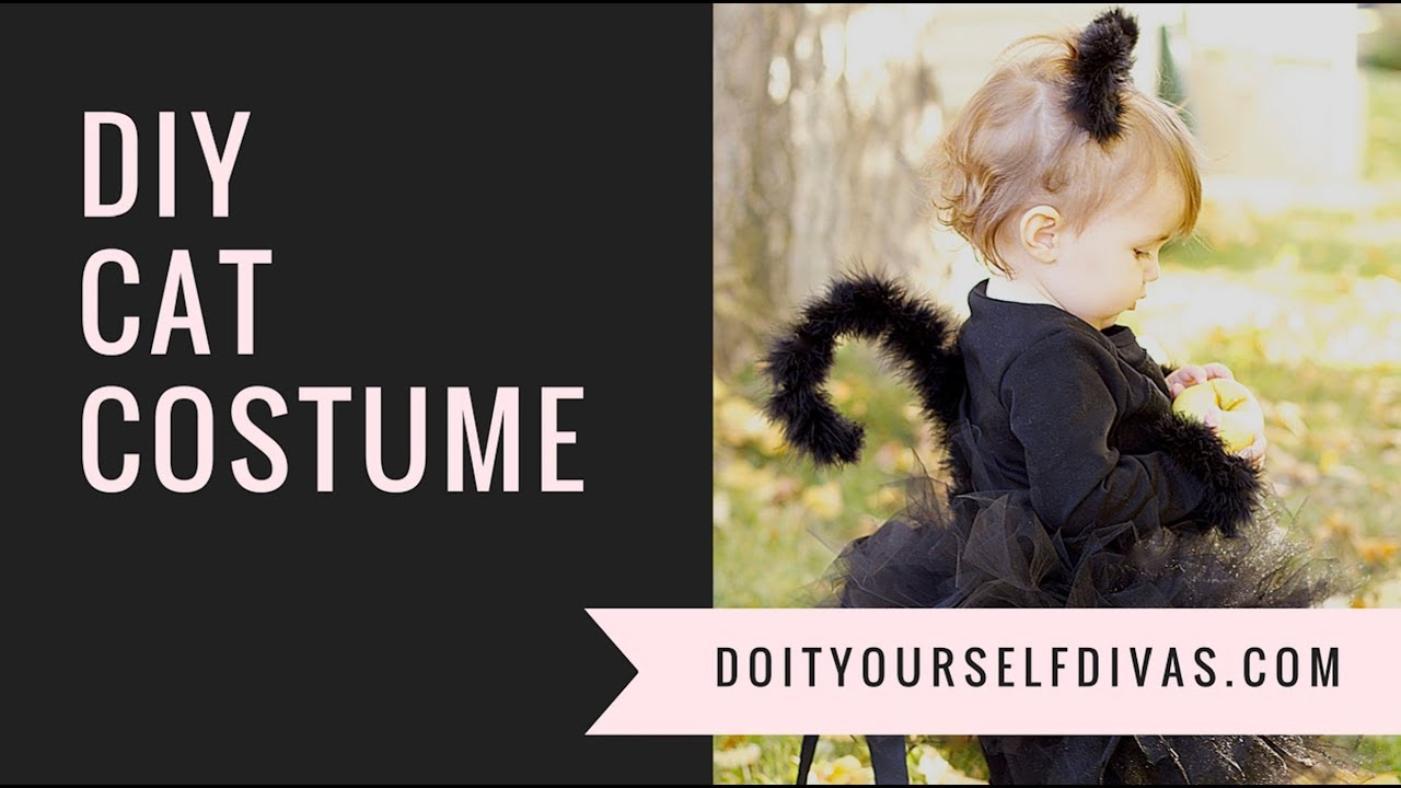 Diy Cat Costume Youtube