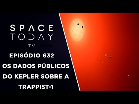 Kepler Observa a TRAPPIST-1 e Os Dados São Públicos - Space Today TV Ep.632
