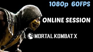 Mortal Kombat X - Scorpion Multiplayer Session (Online 60FPS)