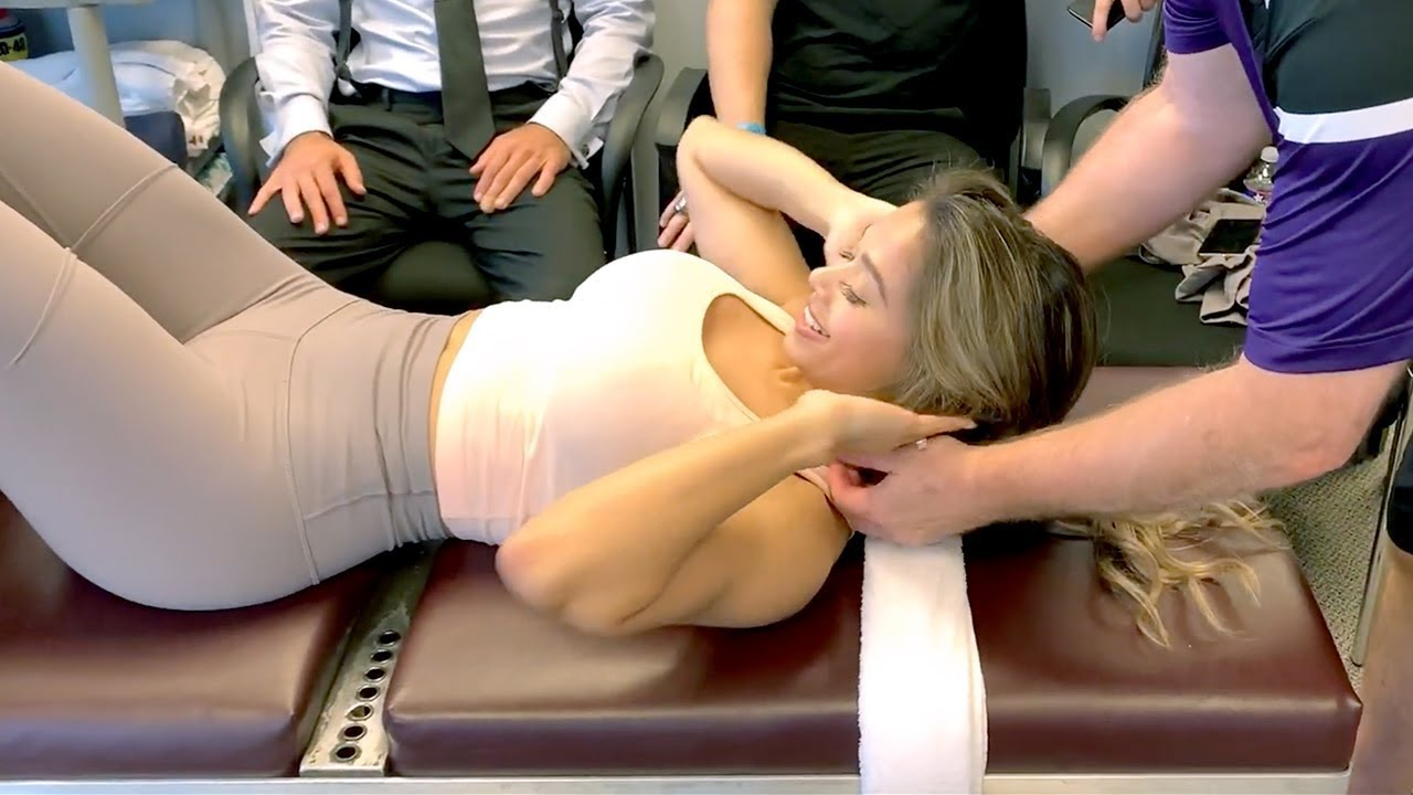 I GOT A RING DINGER! | Loud Chiropractic Adjustment | INTENSE Spinal Decompression