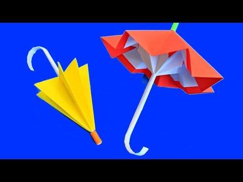 Зонтики оригами своими руками