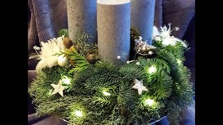 DIY. Jak zrobić Wieniec adwentowy / Adventskranz / Advent wreath