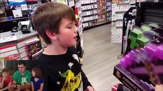 Kids React to Kid Temper Tantrum Stealing GTA V at Gamestop- Oh Shiitake Mushrooms
