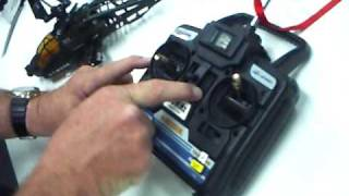 How to Align Radio Control unit to the Helicopter Feral Beast