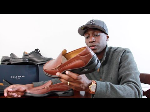 637f8066ea9 Cole Haan Santa Barbara Loafer With Nike Out Sole HD Dress Shoe On Feet  Review