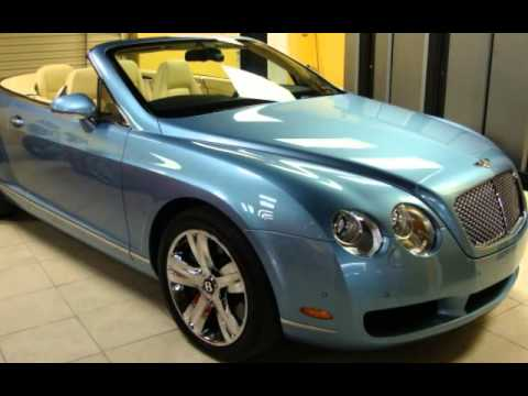 2008 Bentley Continental Gt Convertible For Sale In Naples Fl Youtube