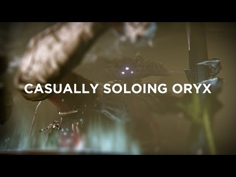 A Destiny player took on Oryx alone — and won