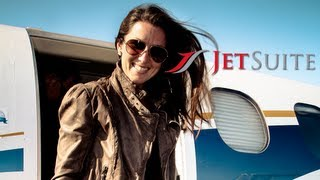 JetSuite Phenom 100 Flight SMO to LAX - Delivering Happiness