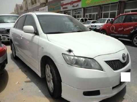 Toyota Camry 2008-White for sale in Qatar
