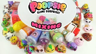 Poopsie Slime Surprise MIXING ENTIRE COLLECTION + Unicorn Slime | Toy Caboodle