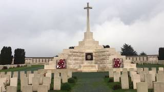 #WW1 #Tyne #Cot Cemetery #Flanders #Belgium