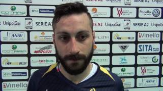 26-03-2017: #A2MVolley - Mimmo Cavaccini nel post New Mater - Tuscania 3-1