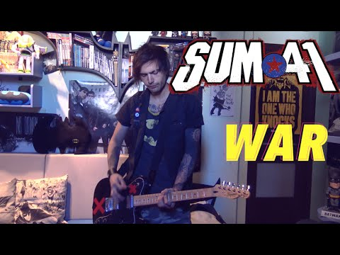 Sum 41 - War (Guitar Cover HD) by SymonIero