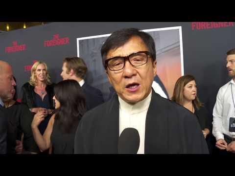 The Foreigner Clips Los Angeles Premiere Soundbites || SocialNews.XYZ