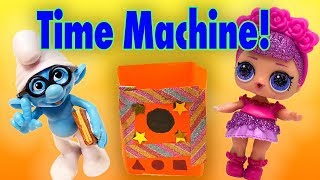 LOL Surprise Dolls Find a Time Machine! Starring Treasure, Sugar Queen and Brainy!