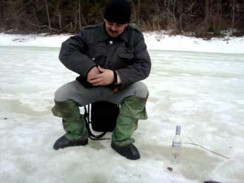 Рыбалка зимой на сухоне