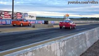 Two Isuzu Impulse's first dragnight in over 15 years