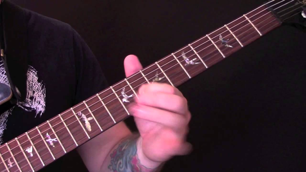 Ain t no stopping us now guitar tutorial with horn parts by mcfadden