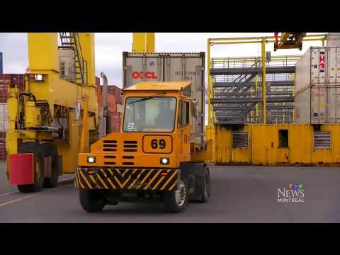 Exclusive access: Inside the forbidden Port of Montreal