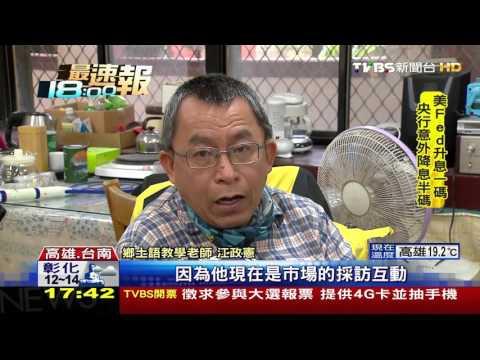 【TVBS】謝龍介說台語標不標準 考驗民眾聽力