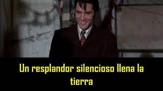 ELVIS PRESLEY - On a snowy Christmas night ( con subtitulos en español ) BEST SOUND