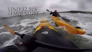 #5 What Norwegians do to have fun - Winter kayaking in big waves | Amazing Norway