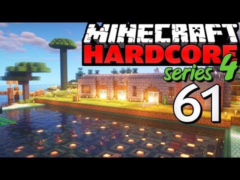 "Minecraft Hardcore - S4E61 - ""Base Upgrades :D"" • Highlights"