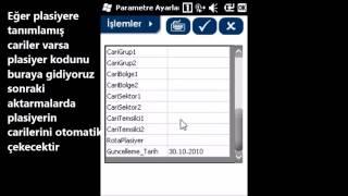 Nitro Programı Parametre Ayarları