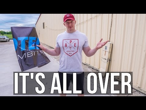EVERYTHING MUST END... No Longer with Myprotein