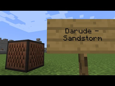 Darude  Sandstorm Minecraft Note Block Remake