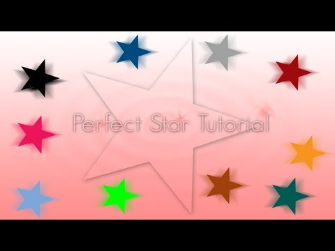 Make A Perfect Star Photoshop Tutorial