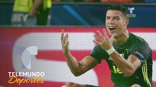 La expulsión que hizo llorar a Cristiano | UEFA Champions League | Telemundo Deportes