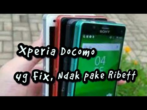 Setting 4G LTE Xperia Docomo Fix