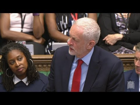 Corbyn: We are tired of tough talk from a weak Government