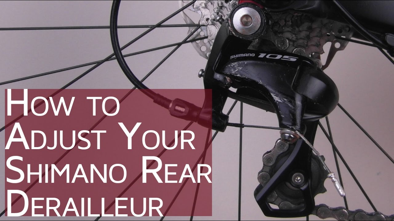 How to Adjust your Shimano Rear Derailleur | #CGT - Bike School