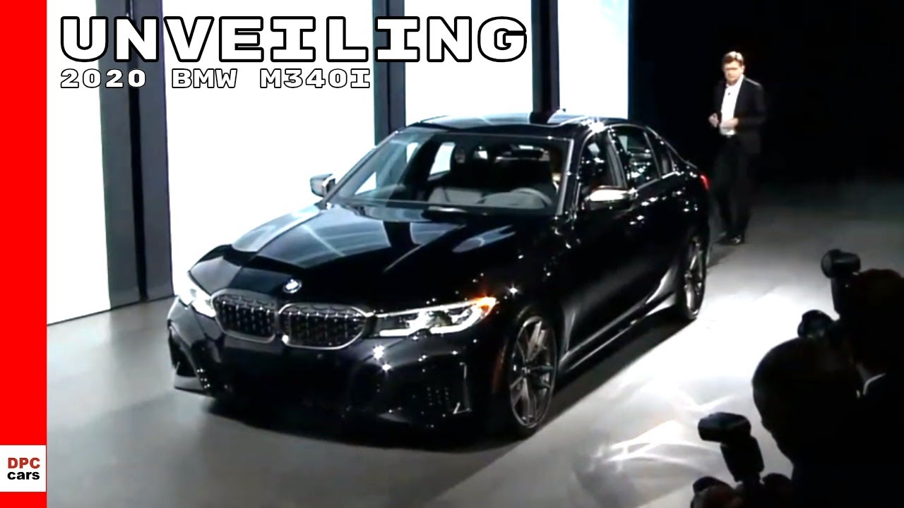 2020 BMW M340i 3-series Unveiling - YouTube